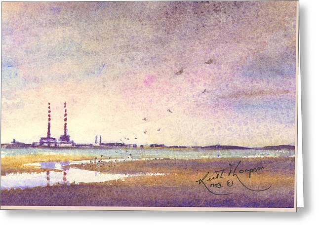 Booterstown Dublin Greeting Card by Keith Thompson