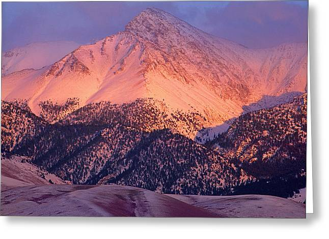 Borah Peak  Greeting Card