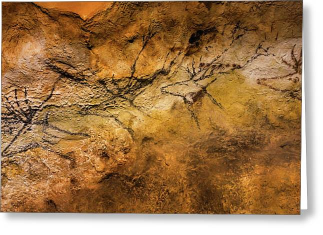 Bordeaux, France. Lascaux Cave Painting Greeting Card