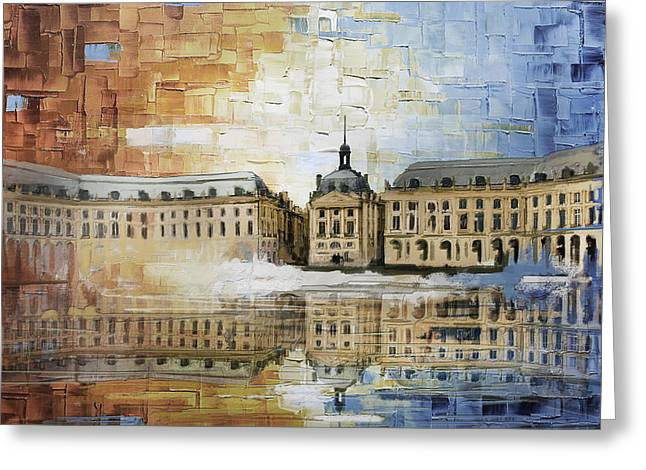 Bordeaux Port Of The Moon Greeting Card