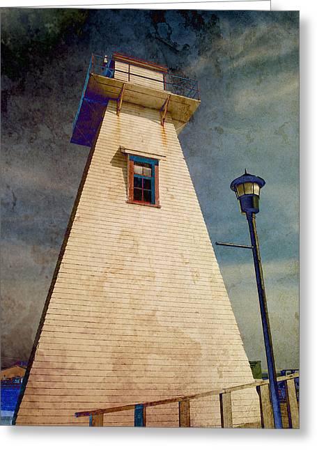 Borden-carleton Lighthouse Greeting Card
