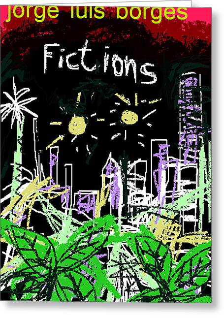 Borges Fictions Poster  Greeting Card