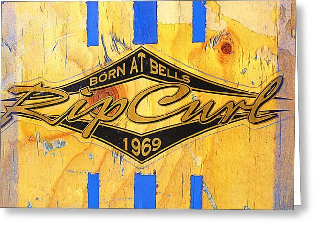 Born At Bells Greeting Card
