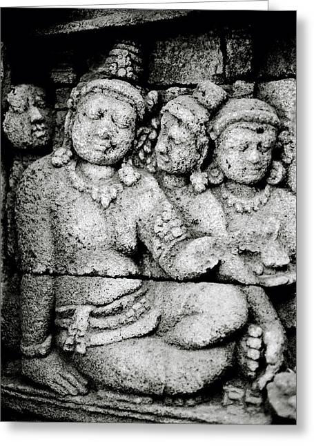 Borobudur Harmony Greeting Card