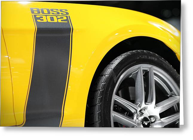 Boss 302   Greeting Card by Gordon Dean II