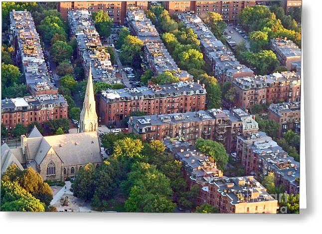 Boston Church Greeting Card