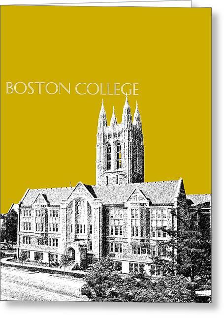Boston College - Gold Greeting Card