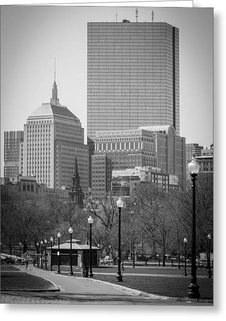 Boston Common Greeting Card