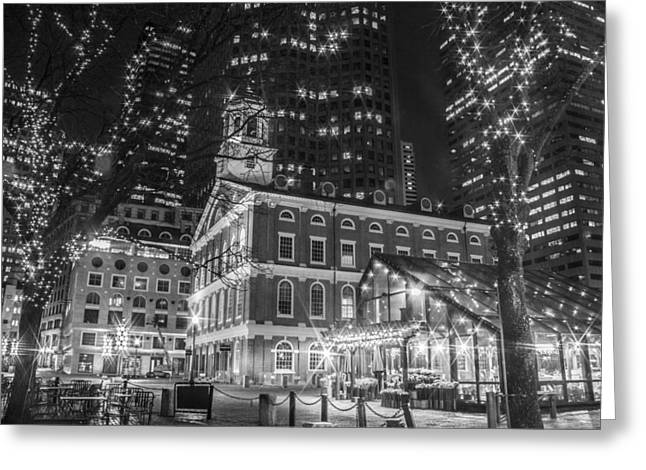 Boston Faneuil Hall  Greeting Card