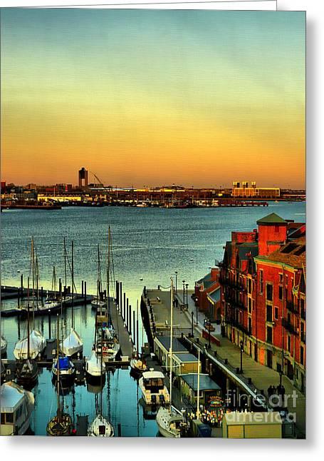 Boston Greeting Card by Jeff Breiman