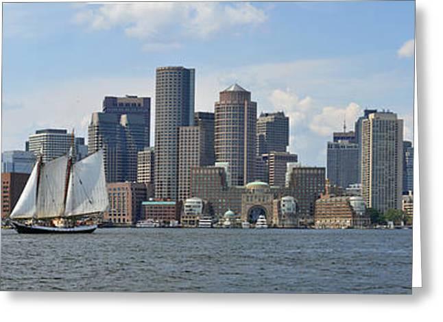 Boston Greeting Card by John Brown