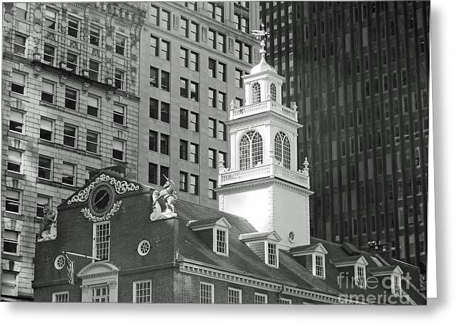 Boston Old State House Greeting Card