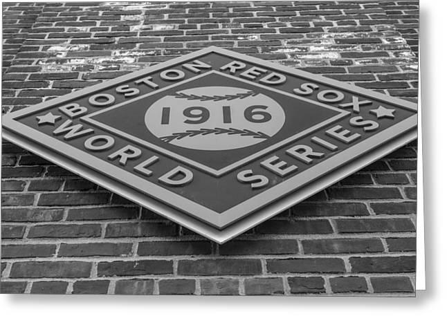 Boston Red Sox 1916 Greeting Card