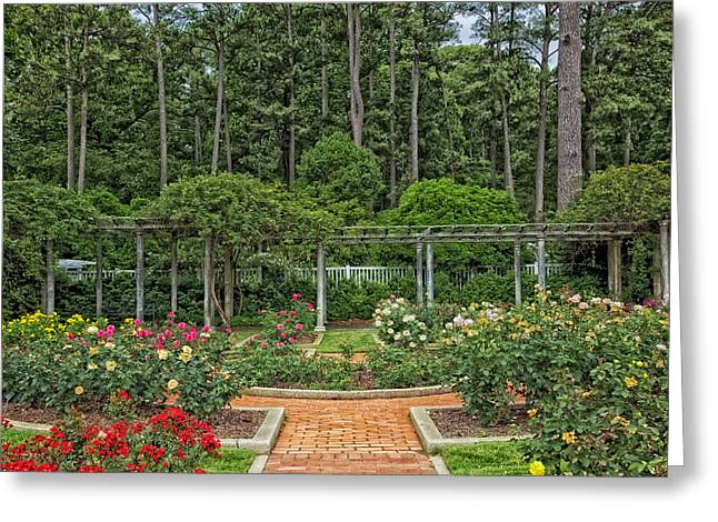 Botanical Gardens - Birmingham Alabama Greeting Card by Mountain Dreams