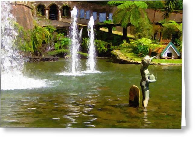 Botanical Gardens Madeira Greeting Card