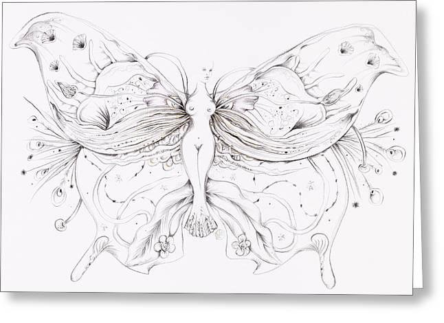Botanicalia Kelly Greeting Card by Karen Robey