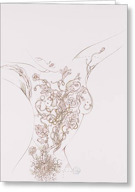 Botanicalia Valerian-sold Greeting Card