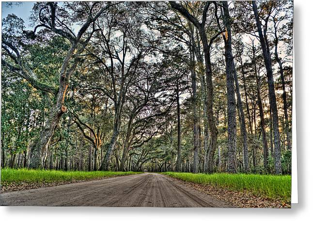 Botany Bay Road Greeting Card