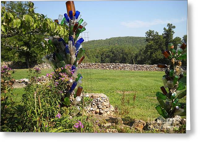 Greeting Card featuring the photograph Bottle Bushes by Mark McReynolds