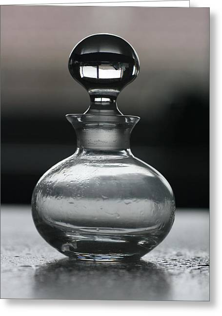Greeting Card featuring the photograph Bottle by Joy Watson