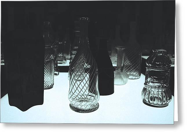 Bottled Composition  Greeting Card