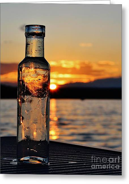 Bottled Sun Greeting Card