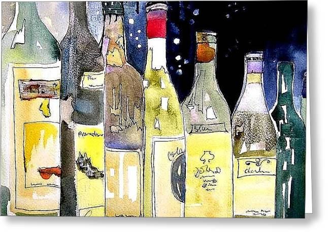 Bottles No 1 Greeting Card