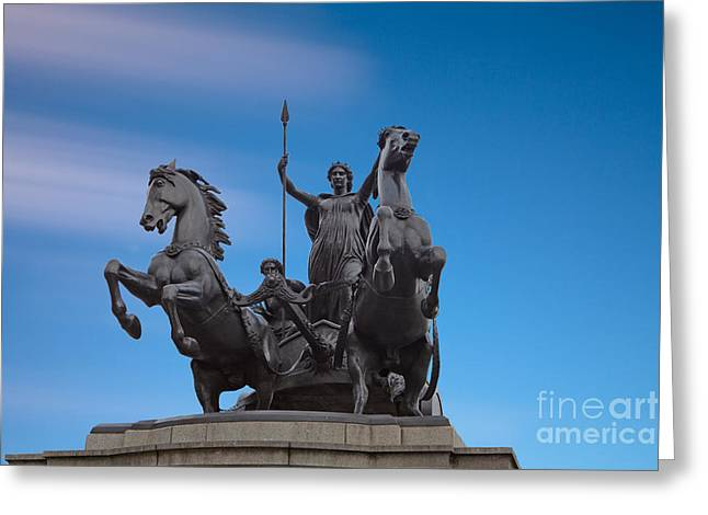 Boudicca Greeting Card by Pete Reynolds