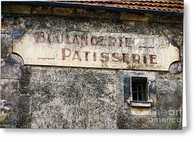 Boulangerie Patisserie Greeting Card by Olivier Le Queinec