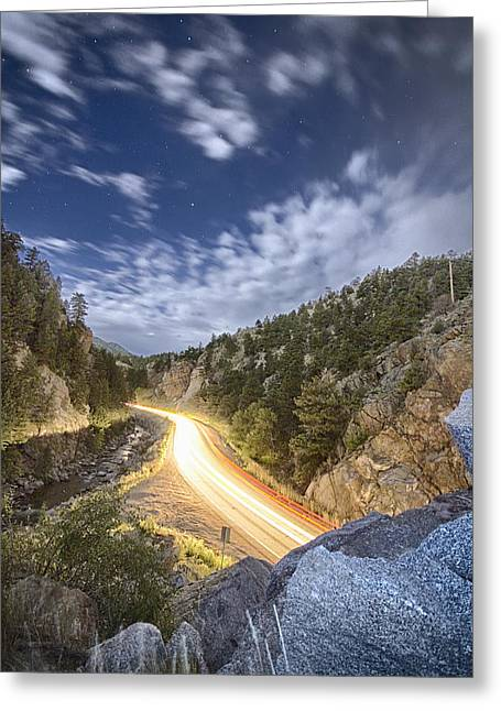 Boulder Canyon Dream Greeting Card by James BO  Insogna