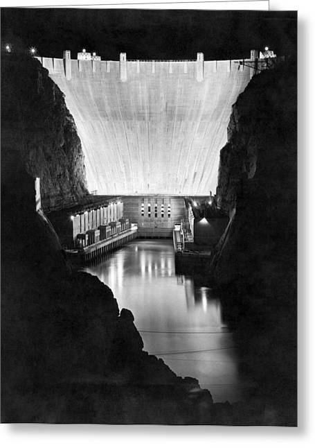 Boulder Dam Greeting Card