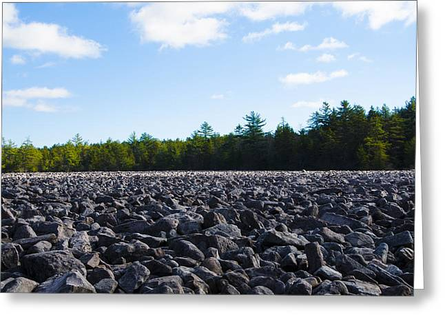 Boulder Field - Hickory Run State Park Greeting Card