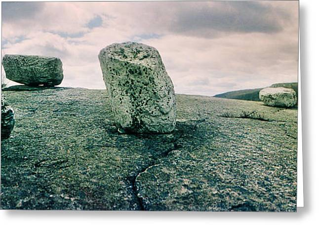 Boulders Along The Gertrudes Nose Greeting Card