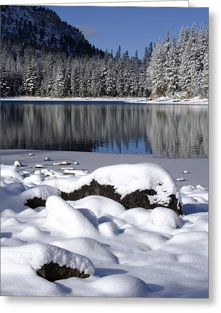 Boulders Of Mcleod Greeting Card by Chris Brannen
