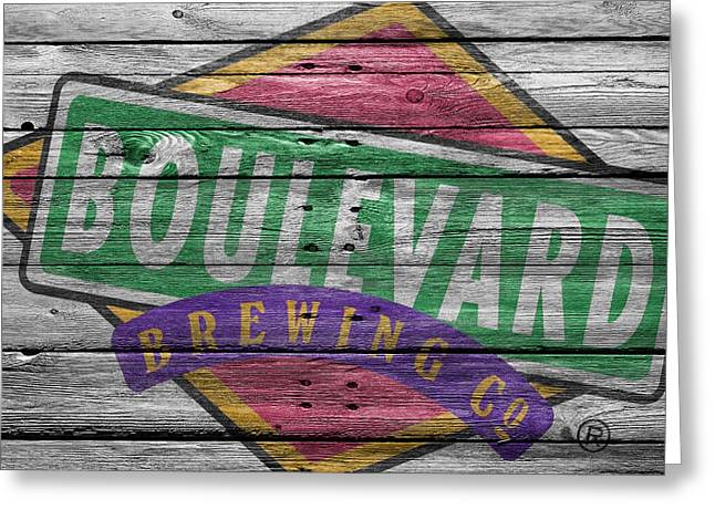 Boulevard Brewing Greeting Card by Joe Hamilton