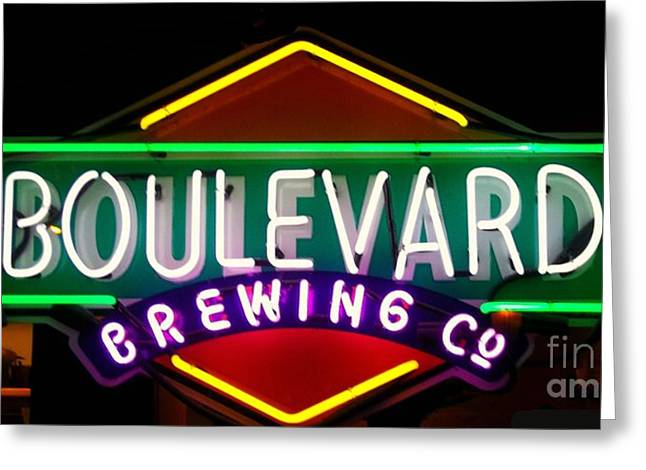Boulevard Brewing Greeting Card