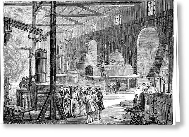 Boulton And Watt's Soho Foundry Greeting Card