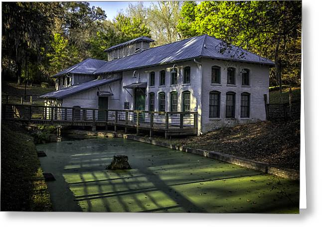 Boulware Springs Water Works Greeting Card by Lynn Palmer