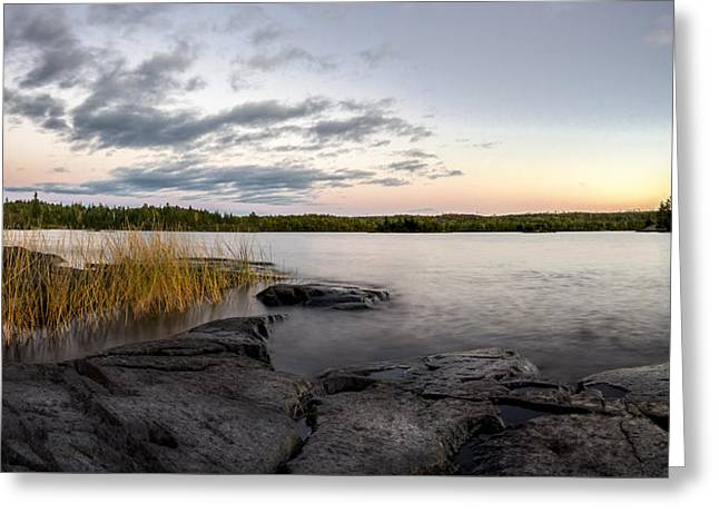 Boundary Waters // Bwca, Minnesota Greeting Card by Nicholas Parker