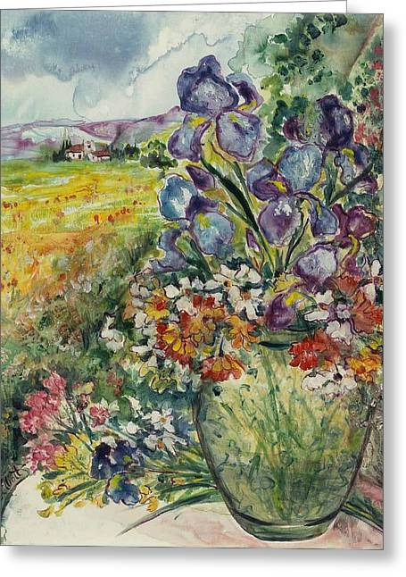Bouquet De Provence Greeting Card