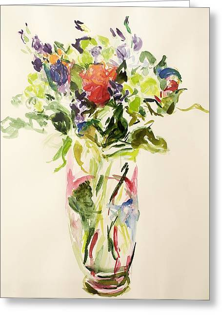 Bouquet  Greeting Card by Julie Held