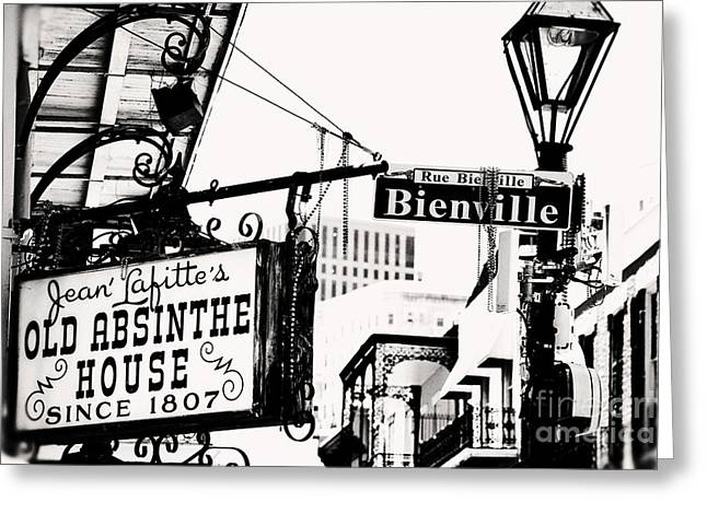 Bourbon And Bienville Greeting Card