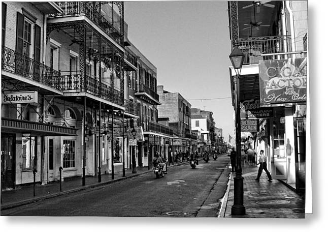 Bourbon Street Afternoon Greeting Card