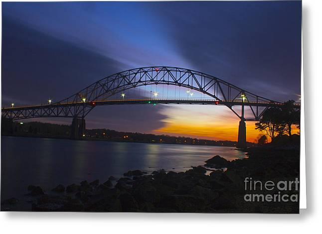 Bourne Bridge Greeting Card