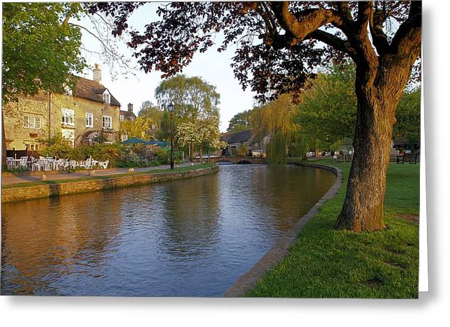 Bourton On The Water 3 Greeting Card