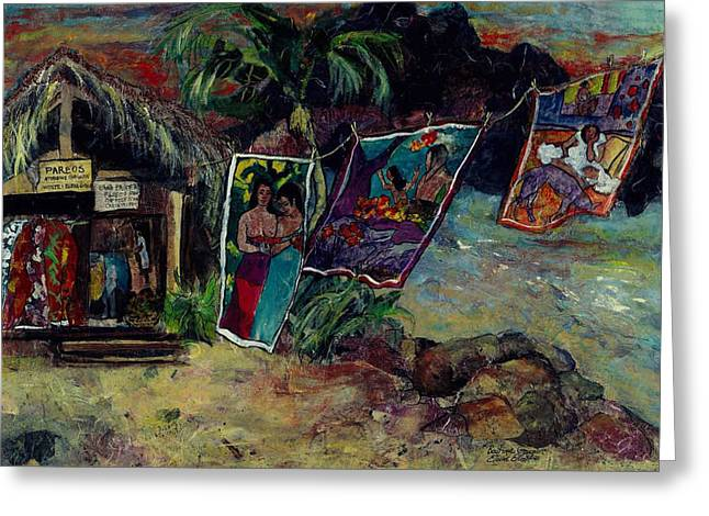 Boutique Gauguin Greeting Card