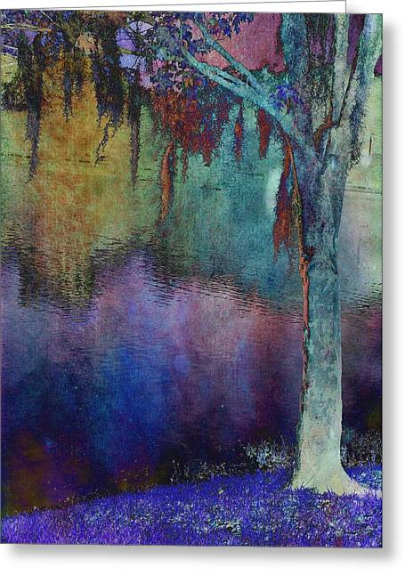 Bouyant Reflections Greeting Card by Jan Amiss Photography