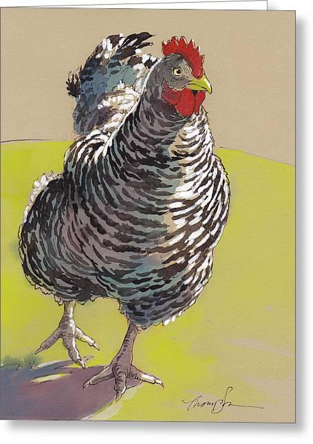 Bow Chicka Wowwow Greeting Card