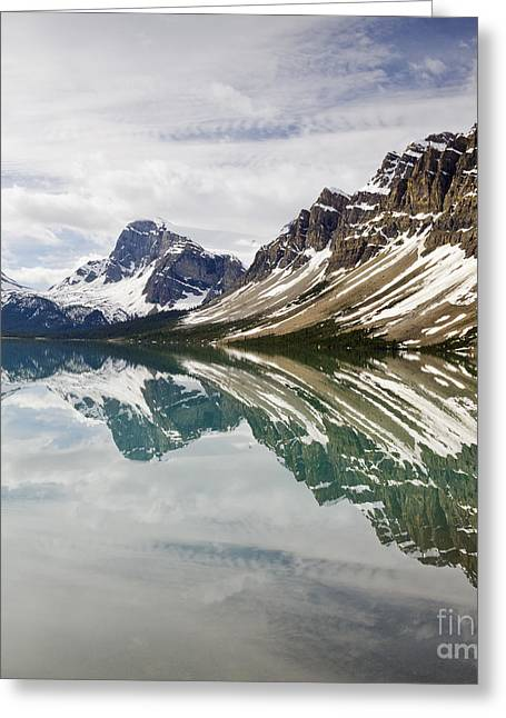 Bow Lake Greeting Card