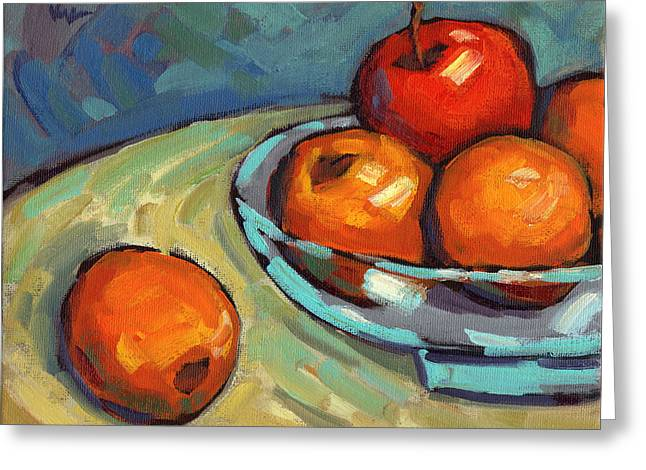 Bowl Of Fruit 2 Greeting Card